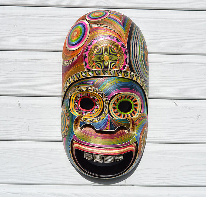Masque Indio Sonriente